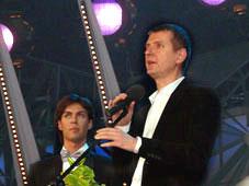 Марк Тишман и Юрий Аксюта