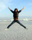 Марк Тишман на озере Байкал