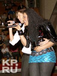 Корнелия Манго и Марк Тишман спелись не только на сцене. Фото: ЗИНЧЕНКО Александр